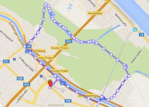 05.04.16 VIE Bridge Running Erdberg-Prater